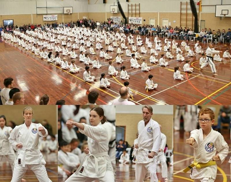 First Taekwondo Perth - exam day